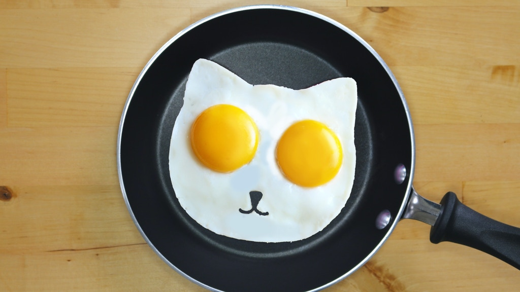 Sunny Side Up Eggs - Cat Fried Egg Mold project video thumbnail