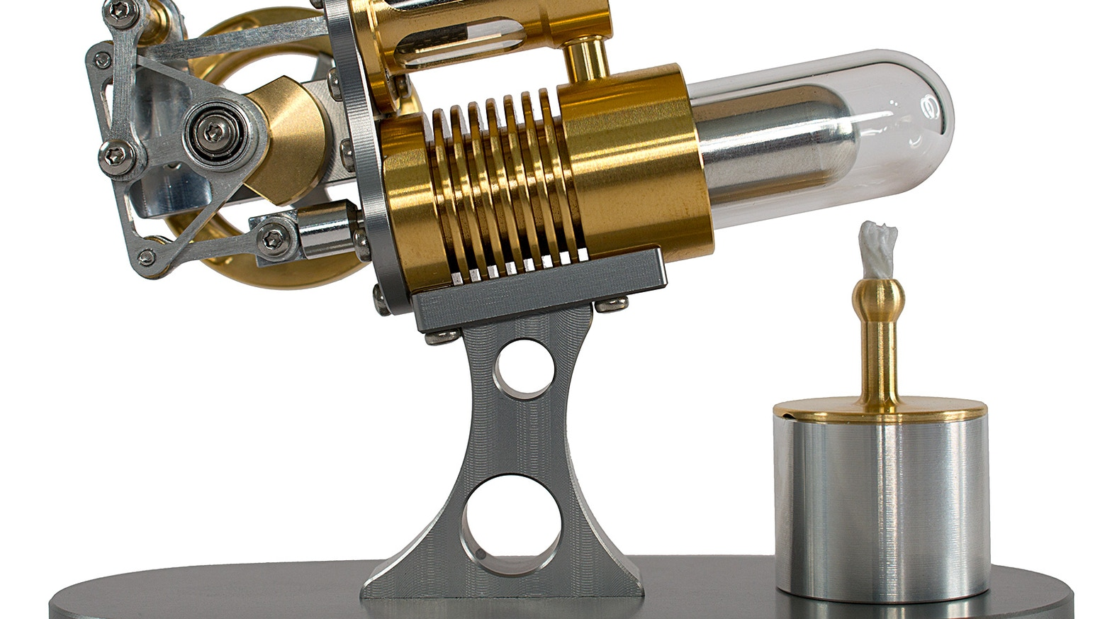 Nano Cannon Stirling Engine - By Kontax Engineering by Kontax