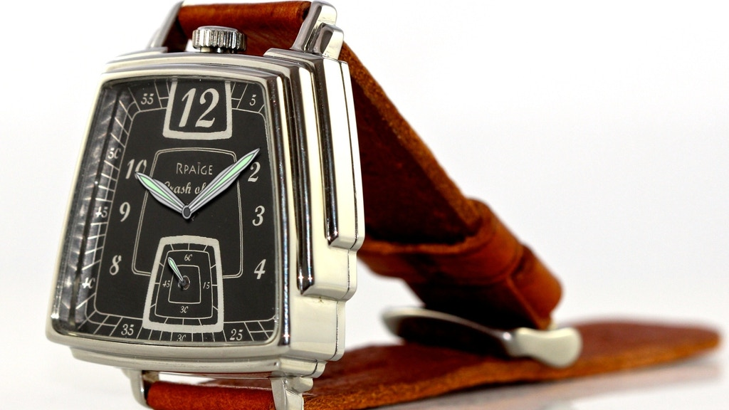 The Crash of '29 Art Deco Watch project video thumbnail