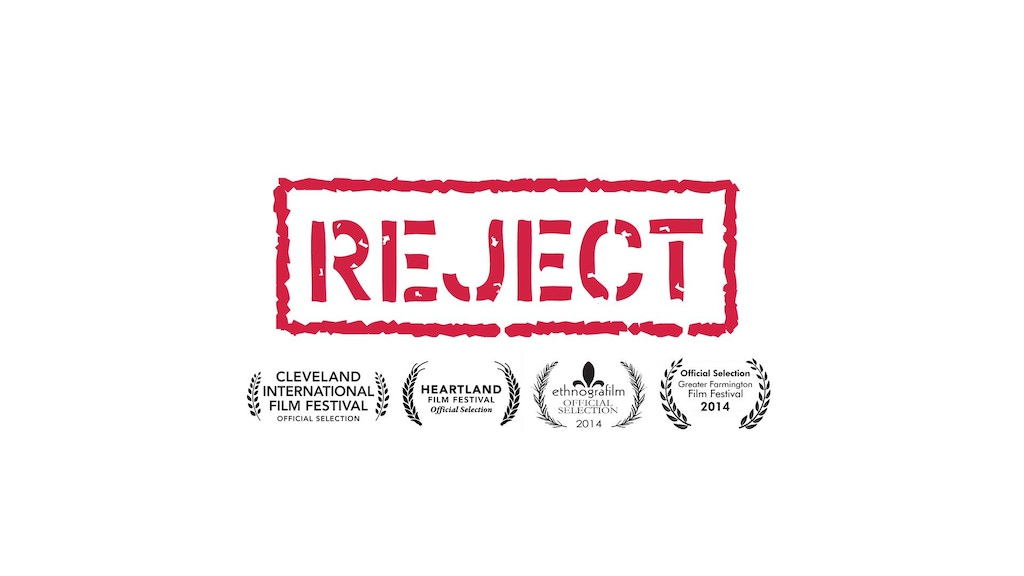 REJECT, a documentary about rejection and acceptance project video thumbnail