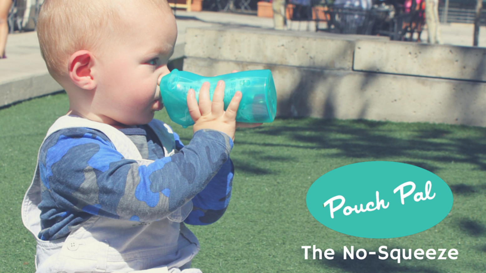 No more squeezy messes, no more annoying vacuum seals. Kids can feed themselves too. Pouch Pal even has a cap-saver space!