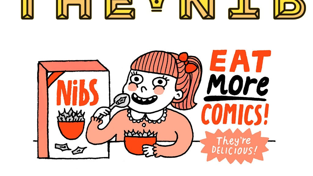 Eat More Comics! The Best of The Nib project video thumbnail