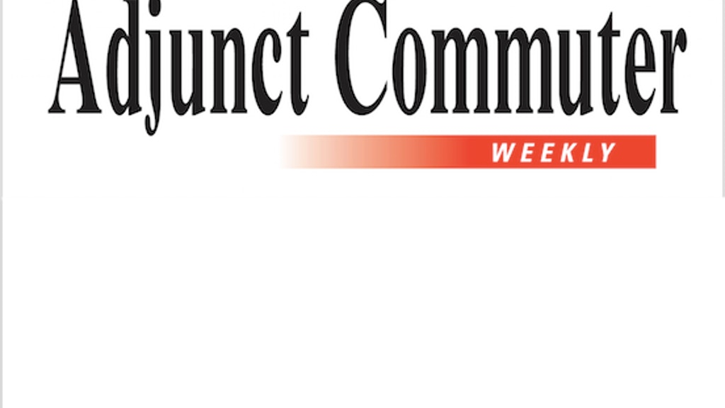 Adjunct Commuter Weekly project video thumbnail