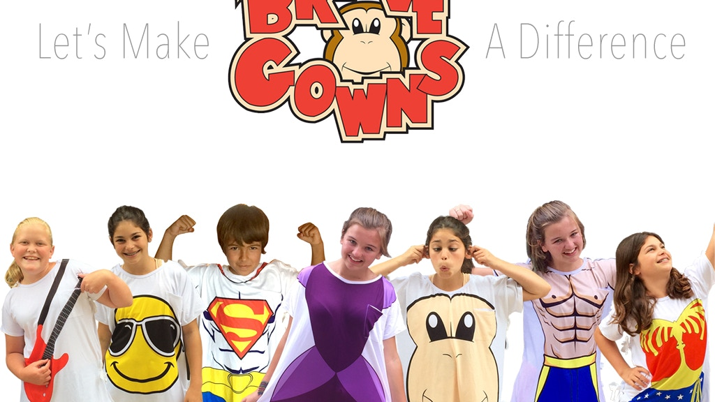 Brave Gowns Help Children Fight Illness w/ Superhero Powers! project video thumbnail