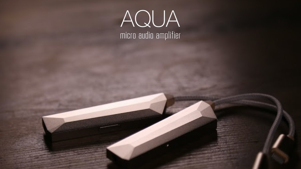 AQUA - World's Lightest Headphone Amplifier, Battery-free project video thumbnail