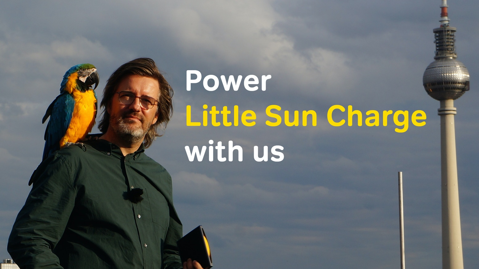 Little Sun Charge is a high-performance solar phone charger and light designed by artist Olafur Eliasson and engineer Frederik Ottesen.