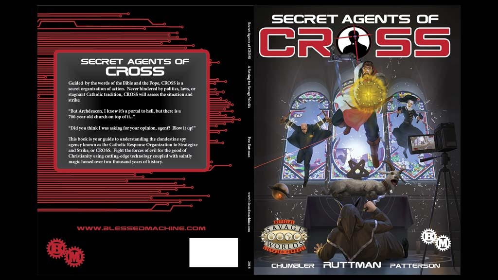 Secret Agents of CROSS for Savage Worlds project video thumbnail