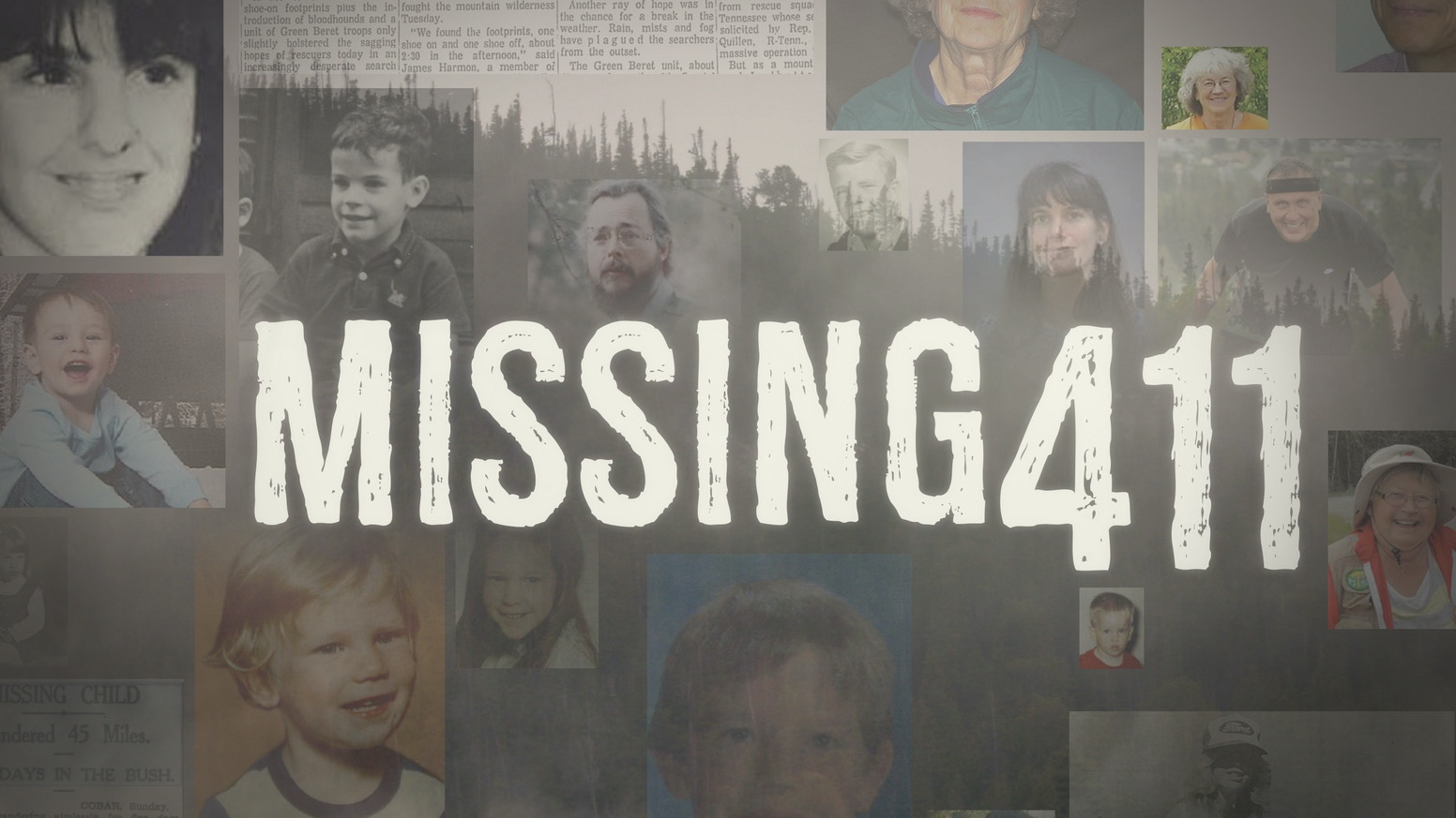 Missing411 seeks the answer to the unsolved disappearances of thousands of visitors in our National Parks & Forests