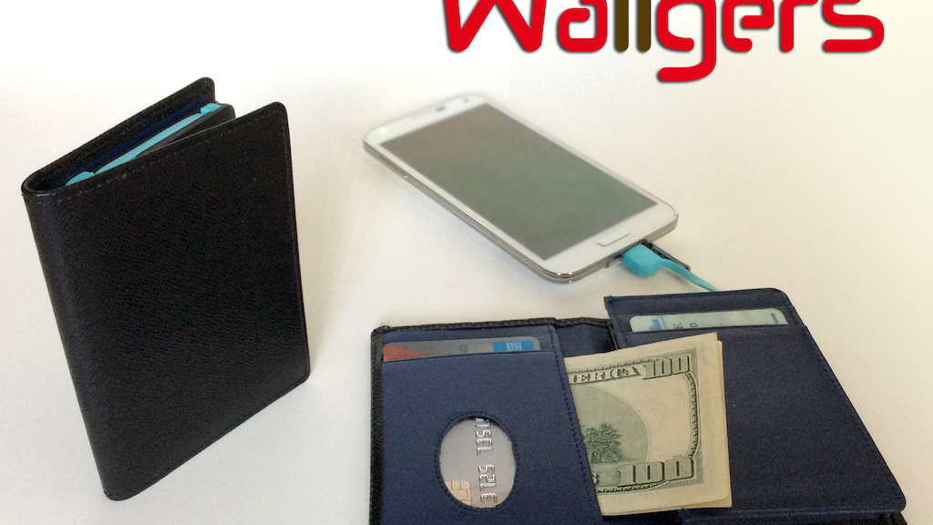 Wallgers Handcrafted Wallets + Phone Charger + RFID Firewall project video thumbnail