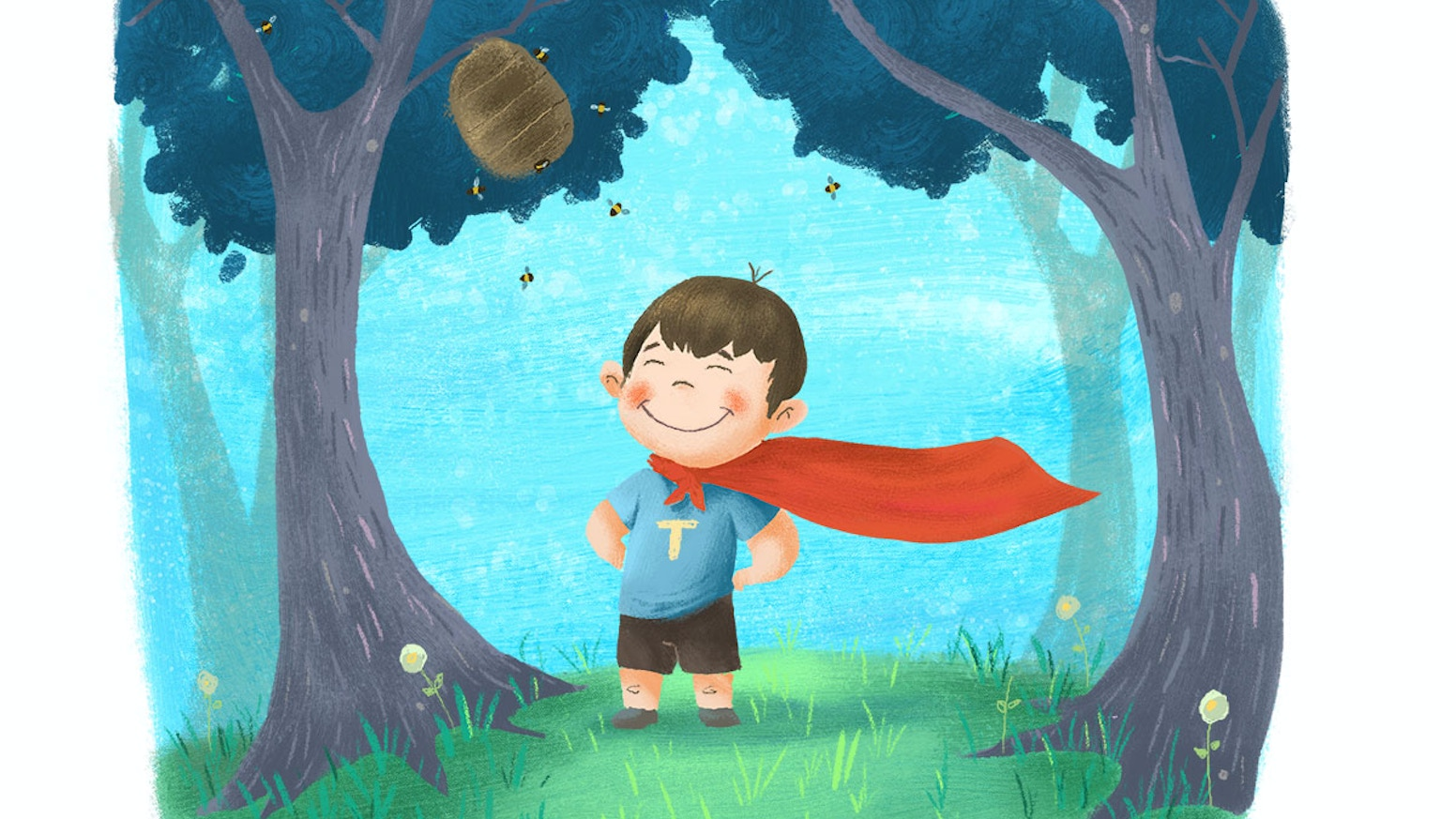 Stinky Toot Boy Saves the Day: A Children's Book on Bullying