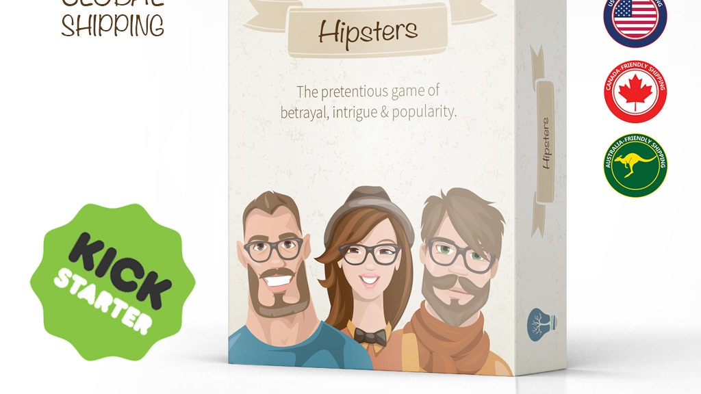 Project image for Hipster: A pretentious tabletop game