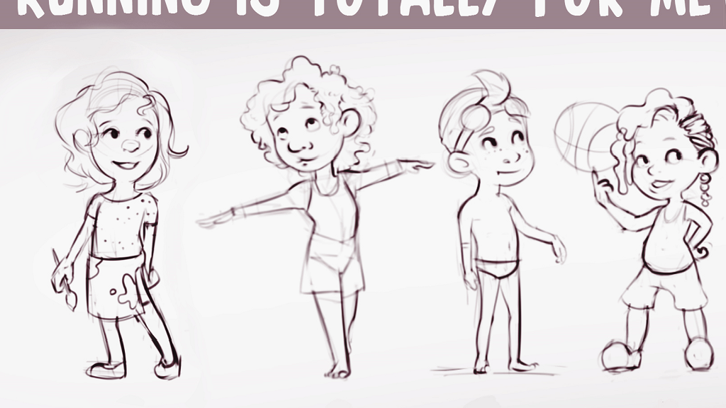 Children's Book: Running is Totally for Me! project video thumbnail