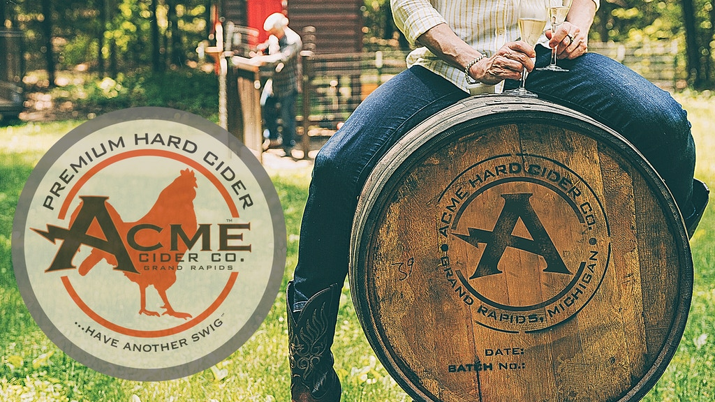 Help Acme Cider bring our award winning hard cider to you! project video thumbnail