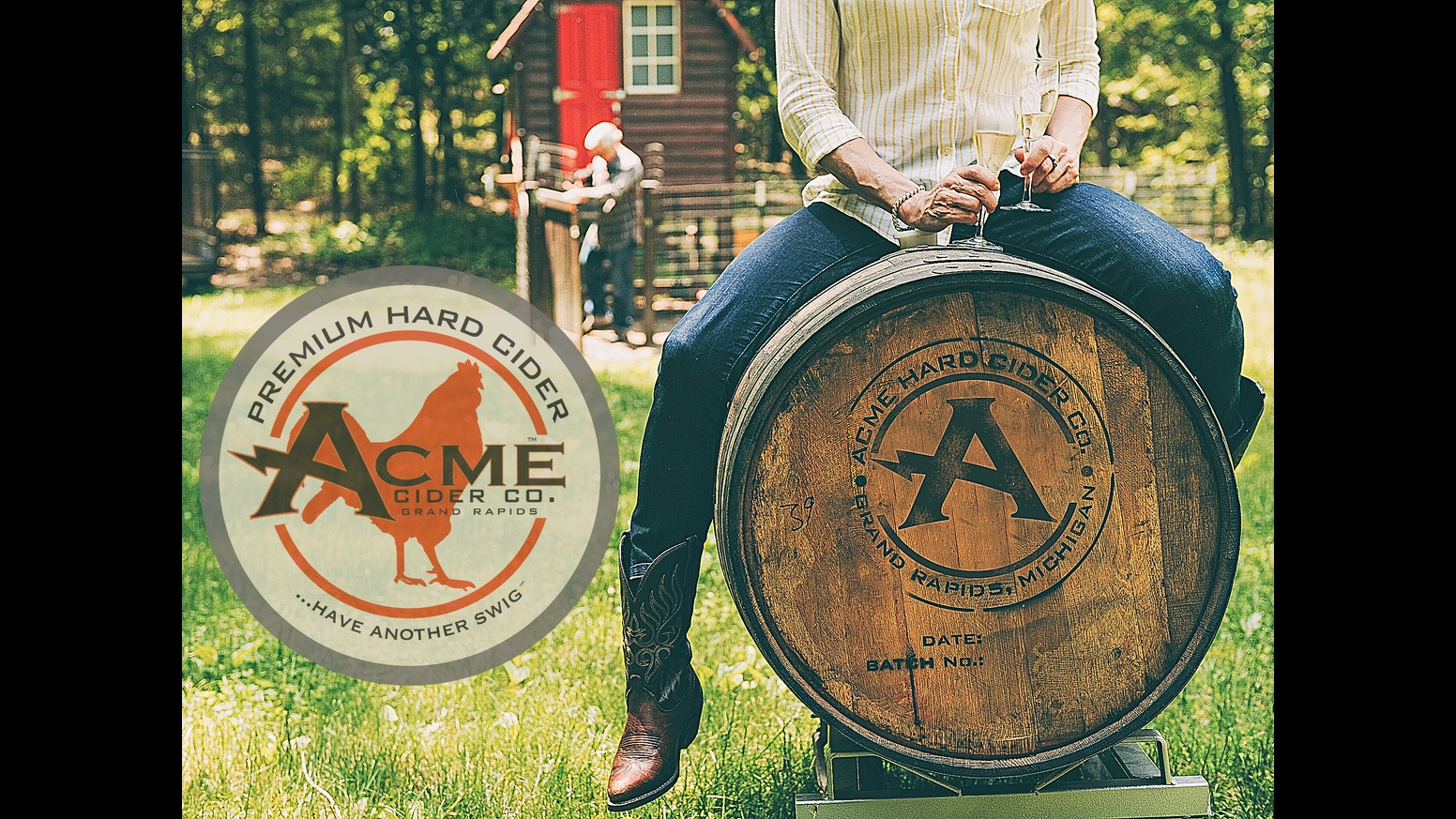 Wonderful image of Help Acme Cider bring our award winning hard cider to you! by David  with #9A5A31 color and 1552x873 pixels