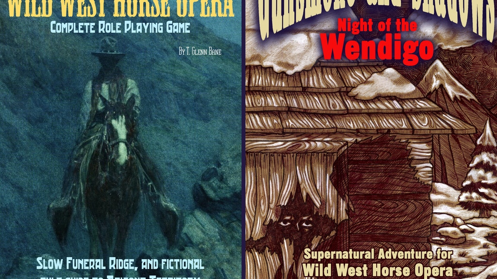 Wild West Horse Opera RPG (Three  book bundle) project video thumbnail