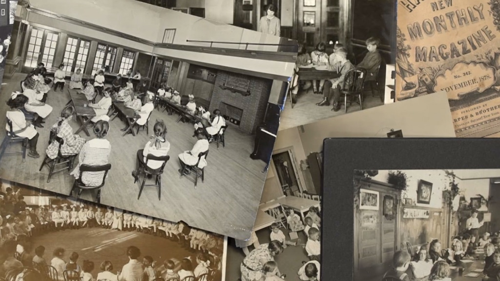 A film on the History of Kindergarten from Froebel to today project video thumbnail