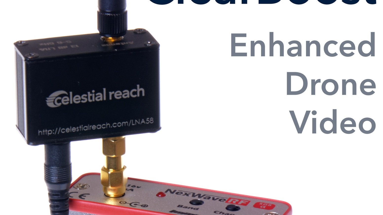 Clearboost Enhanced Video Reception For Drones And Fpv By Mark Enhancement Analog Amplifier Electronic Projects Circuits A Small Device That Sits Between Your Antenna Receiver To Increase Quality