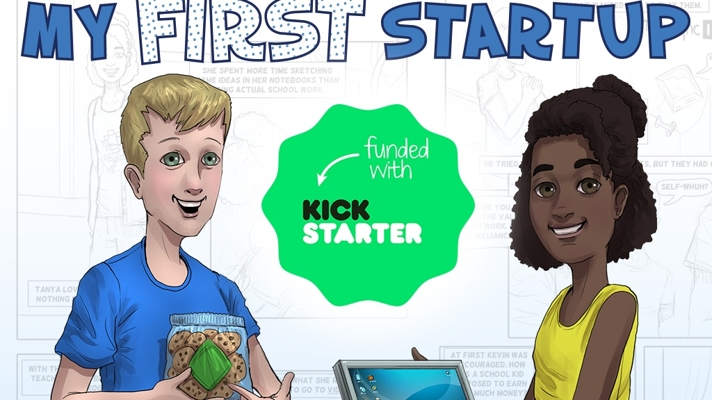 My First Startup - educational comic book for kids! project video thumbnail