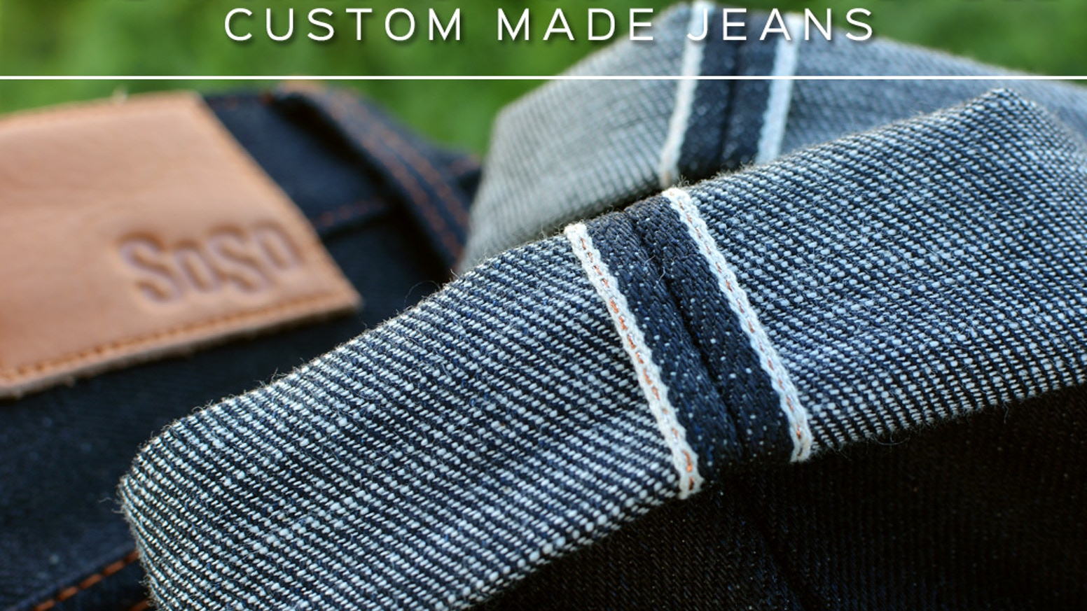 75ea691849c We re here to give you freedom. A freedom that most brands do not offer. We  are here to give you Custom Made Jeans.