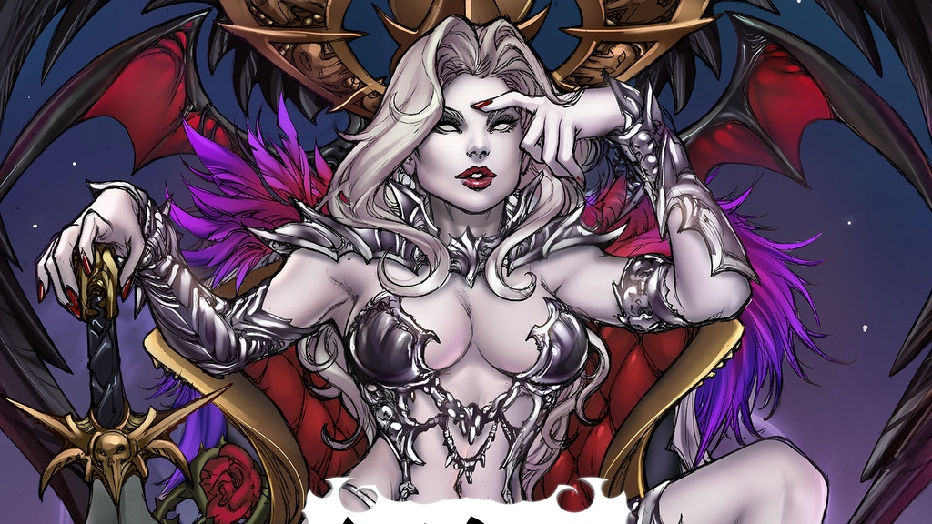 BRIAN PULIDO'S NEW LADY DEATH GRAPHIC NOVEL: DAMNATION GAME! project video thumbnail