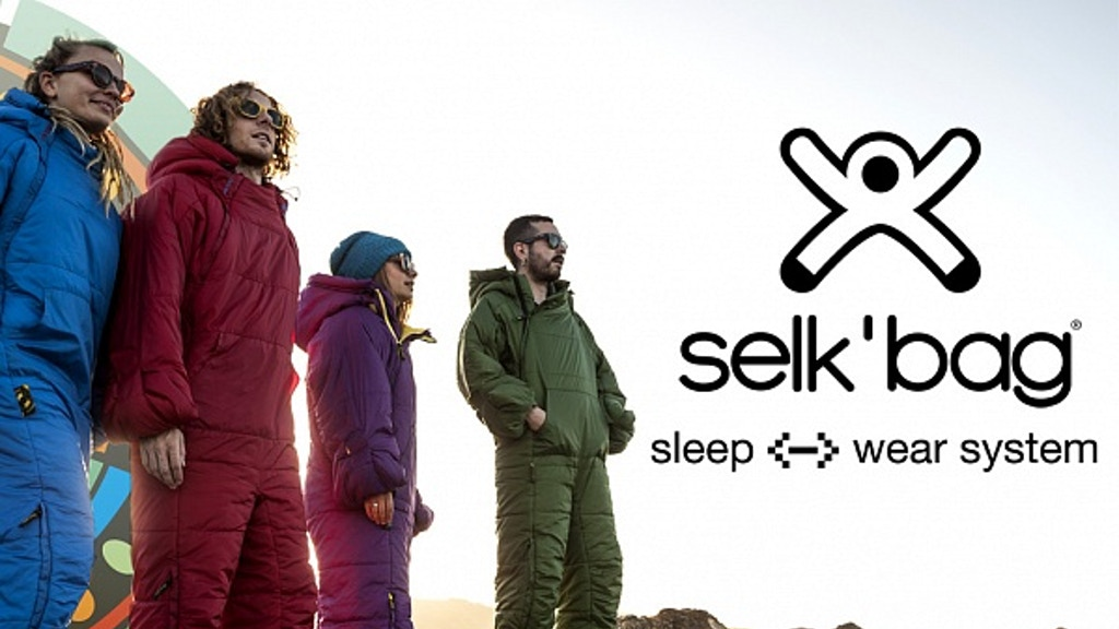 Selk'bag - The Sleeping Bag Reimagined! project video thumbnail