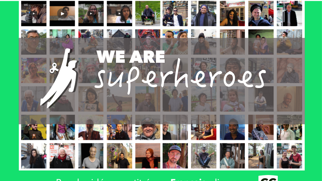 WE ARE SUPERHEROES project video thumbnail