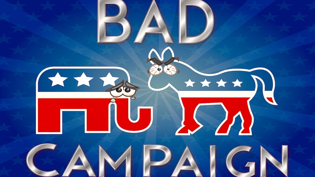 Bad Campaign- The Politically Charged Party Game! project video thumbnail