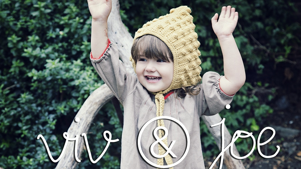 Viv & Joe : London-based baby and toddler brand project video thumbnail