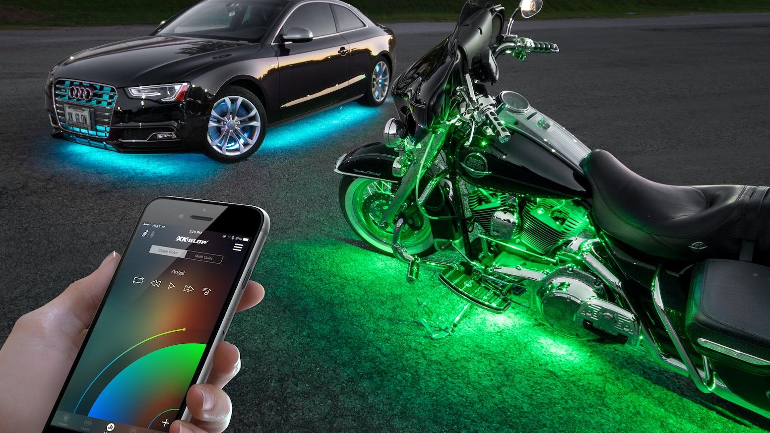 XKchrome: Reinventing Automotive Lighting by XK GLOW — Kickstarter