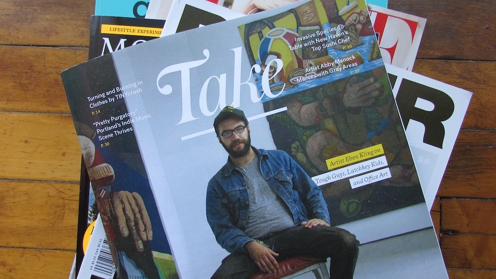 Take Magazine project video thumbnail
