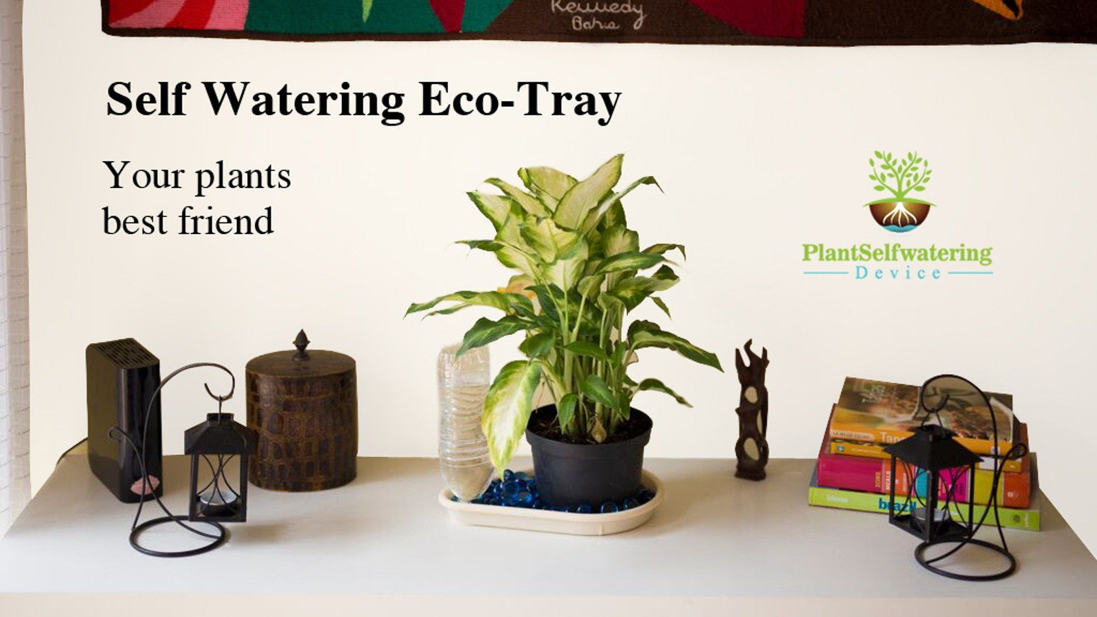 Automatic watering system for potted plants - Self Watering Eco Tray Your Plants Best Friend