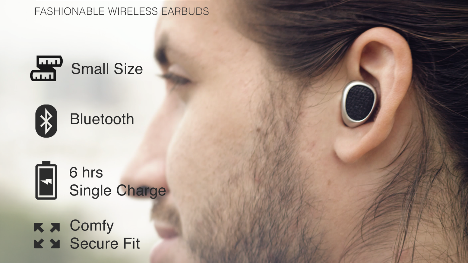 Truebuds The Worlds Smallest Stereo Cordless Earbuds By Headset Bluetooth Earbud Mini A Stylish Alternative To Bulky Headphones And Tangling Wires Best In Market 6