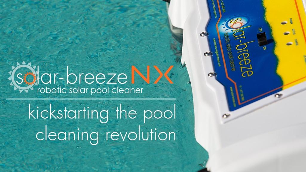 Solar-Breeze Next Generation Solar Robotic Pool Cleaner project video thumbnail