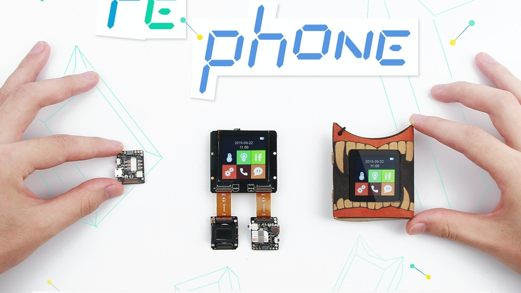 RePhone Kit - World's First Open Source and Modular Phone project video thumbnail