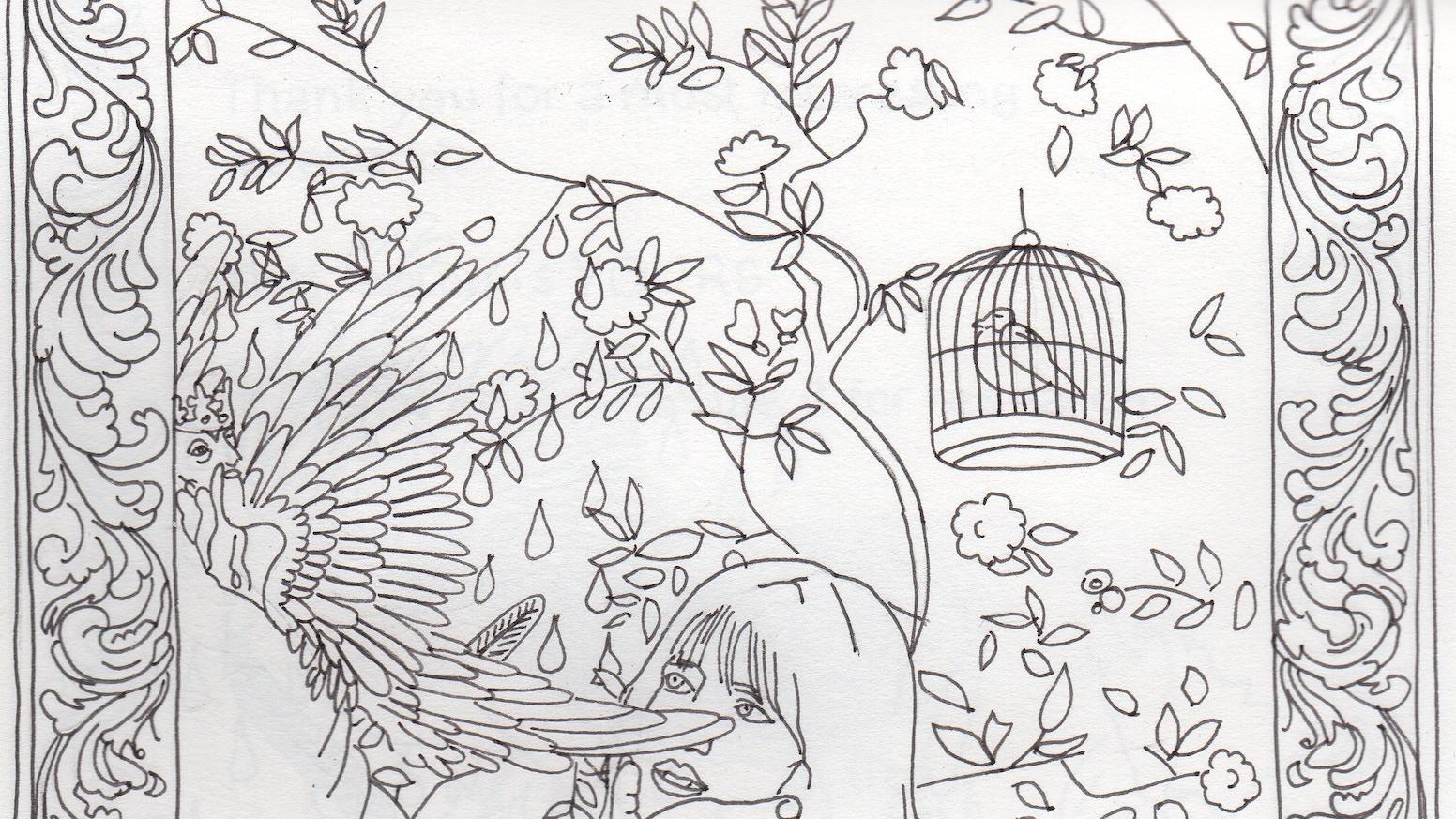 50 Shades of Grey Coloring Book by Aviva Brueckner — Kickstarter