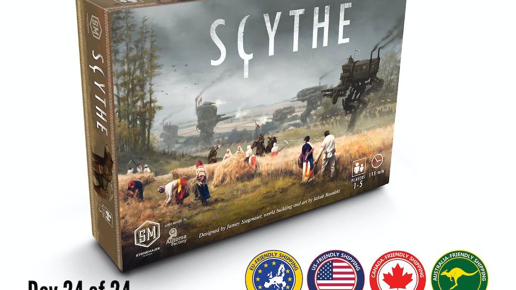 scythe scythe by jamey stegmaier kickstarter