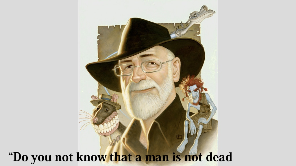 The Turtle Moves:  Remembering Terry Pratchett project video thumbnail