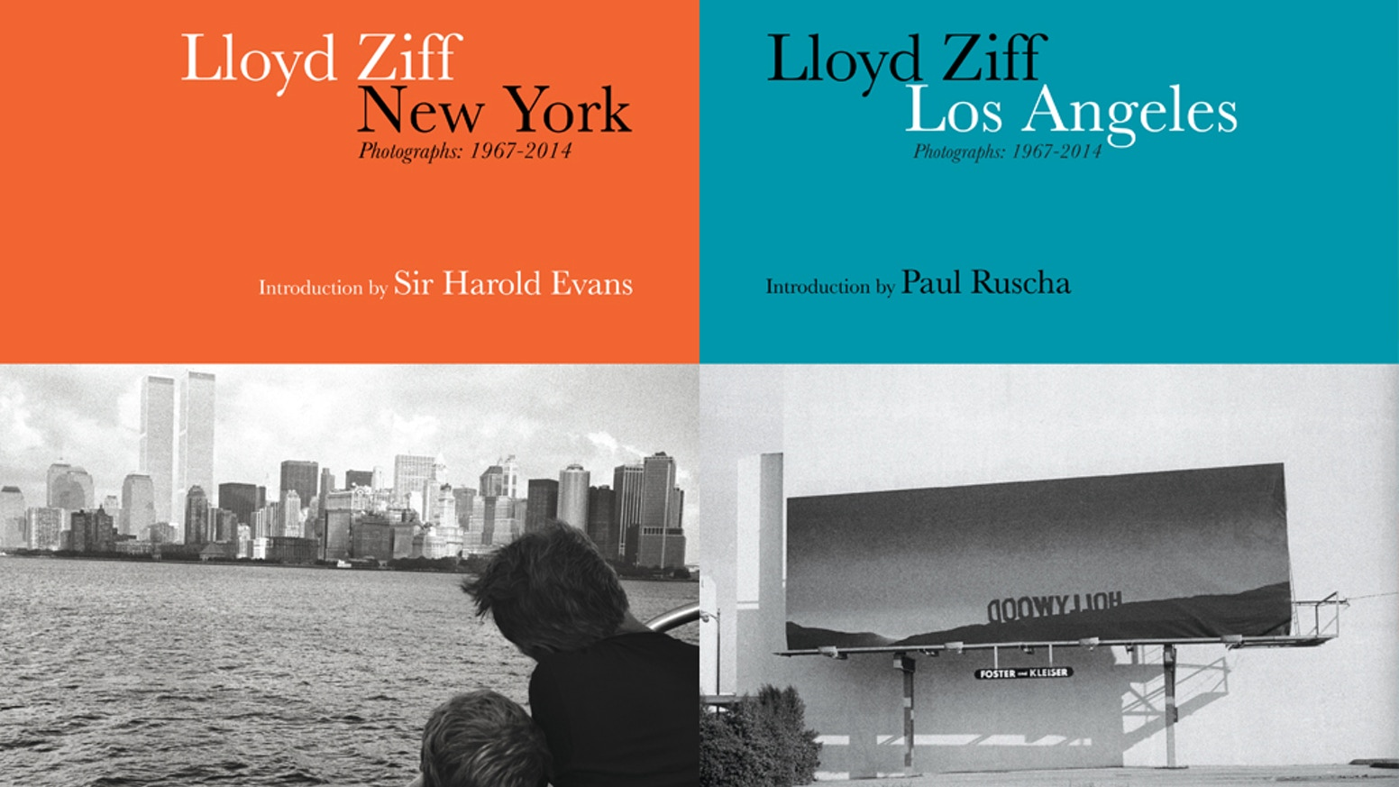 New York / Los Angeles: 2 Volume Photo Book Set By Lloyd