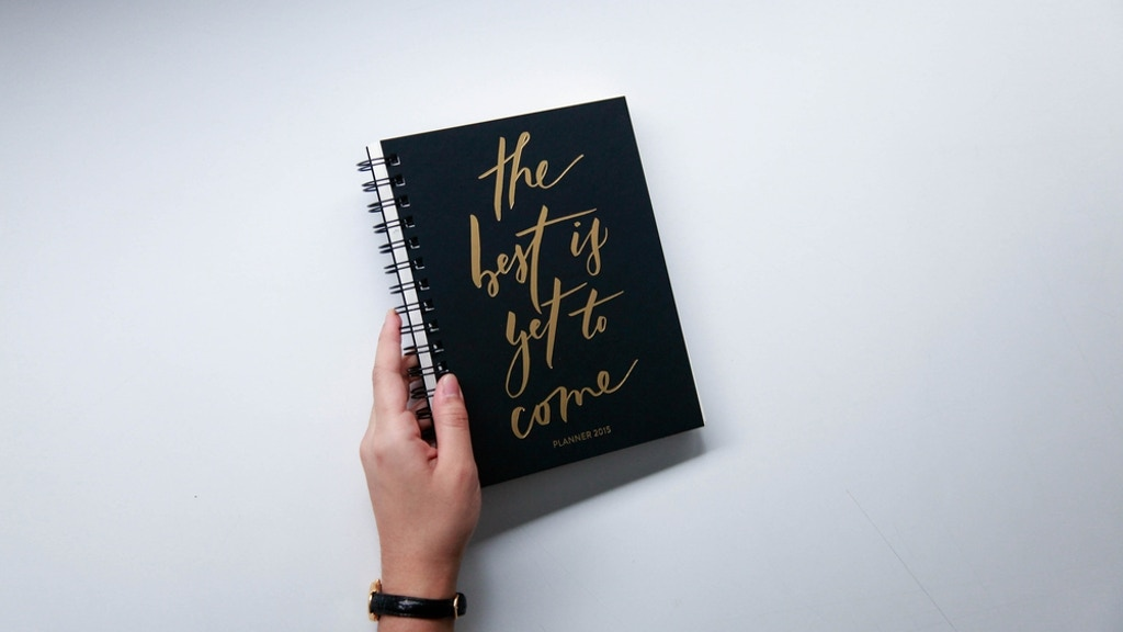 """""""The Best Is Yet To Come"""" 2016 Daily Planner project video thumbnail"""