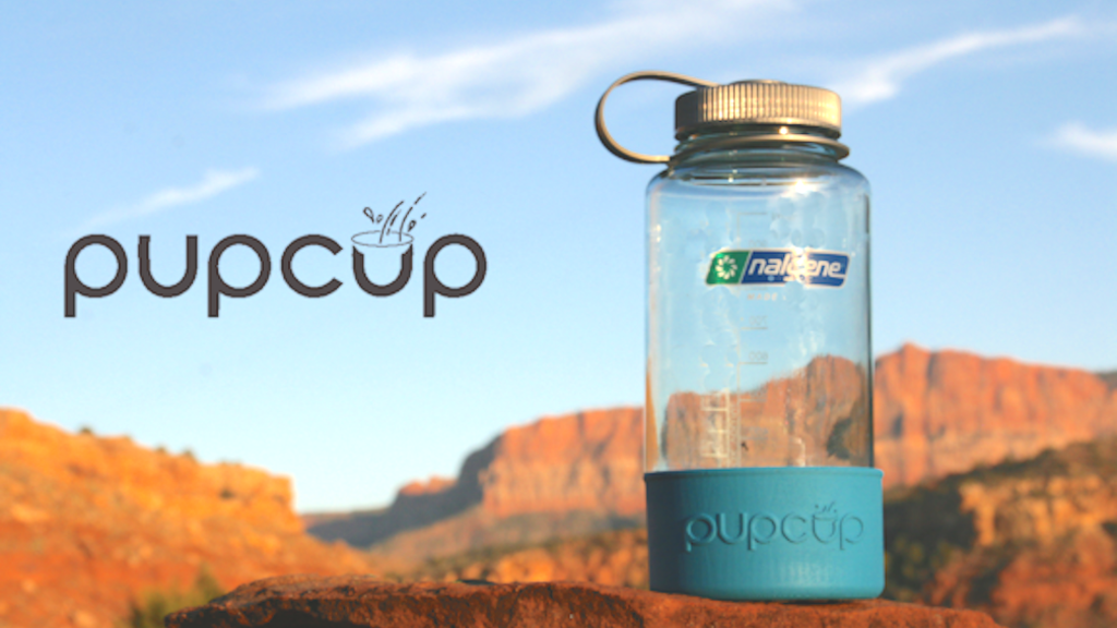 PupCup® The dog bowl that lives on your water bottle! project video thumbnail