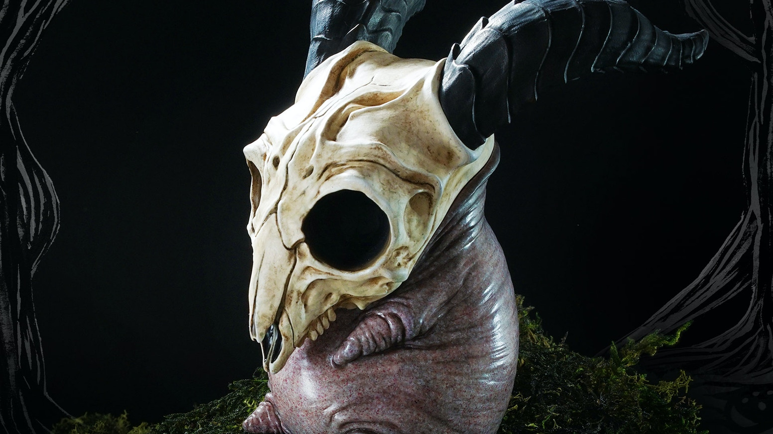 Bobby is the first creature from the world of Creepy Hill produced as a pre-painted resin figure.
