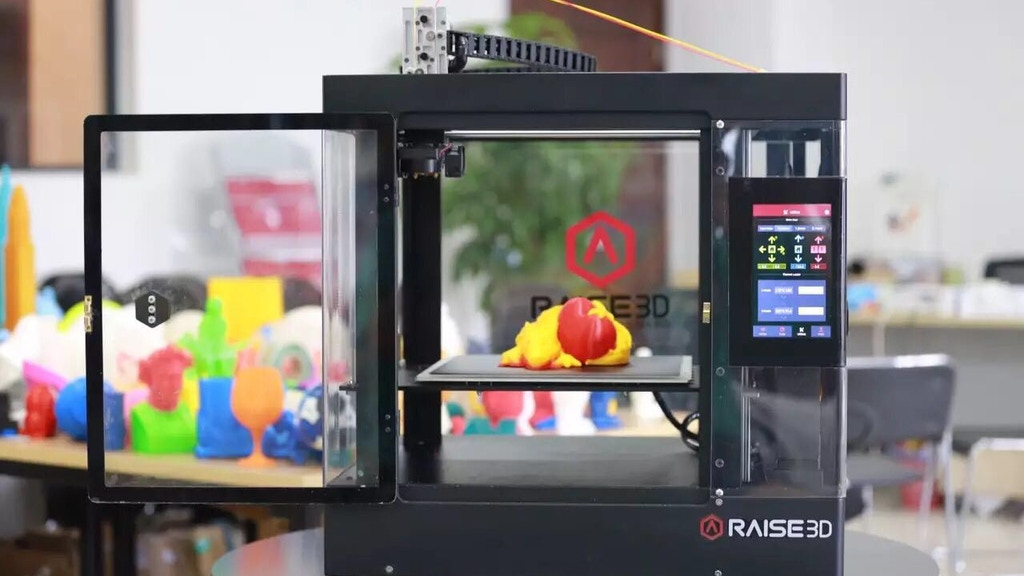 Raise3D 3D Printers - Raise the Standard of 3D Printing project video thumbnail