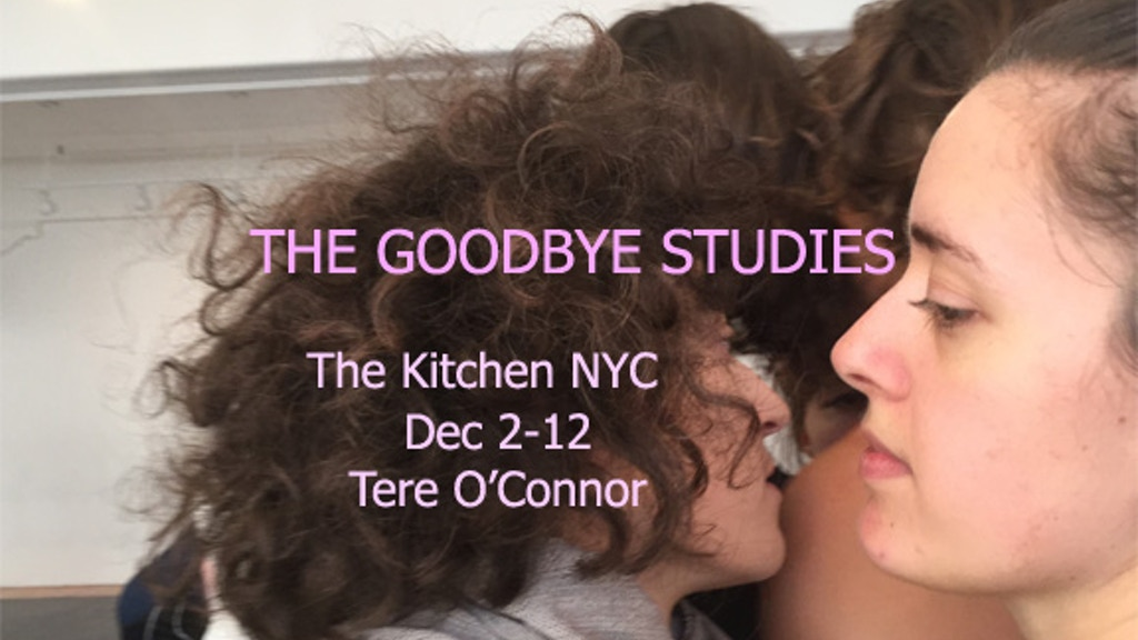 The  Goodbye Studies       Tere O'Connor project video thumbnail