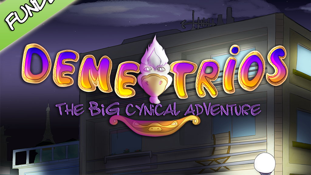 Demetrios - The BIG Cynical Adventure (PC, Vita, Xbox, PS4) miniatura de video del proyecto