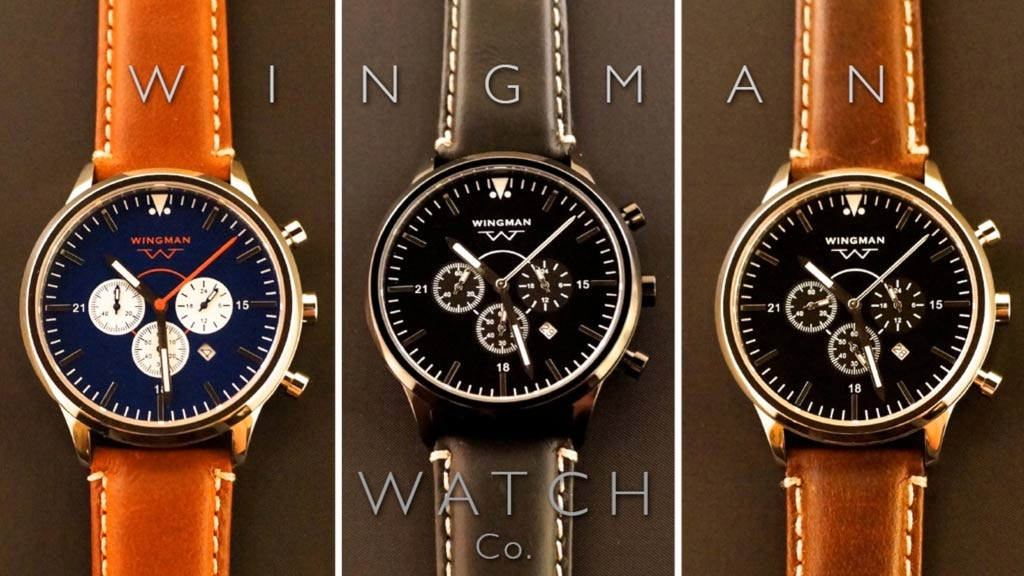 Wingman Watches: Classic Aviation Design with a Modern Touch project video thumbnail