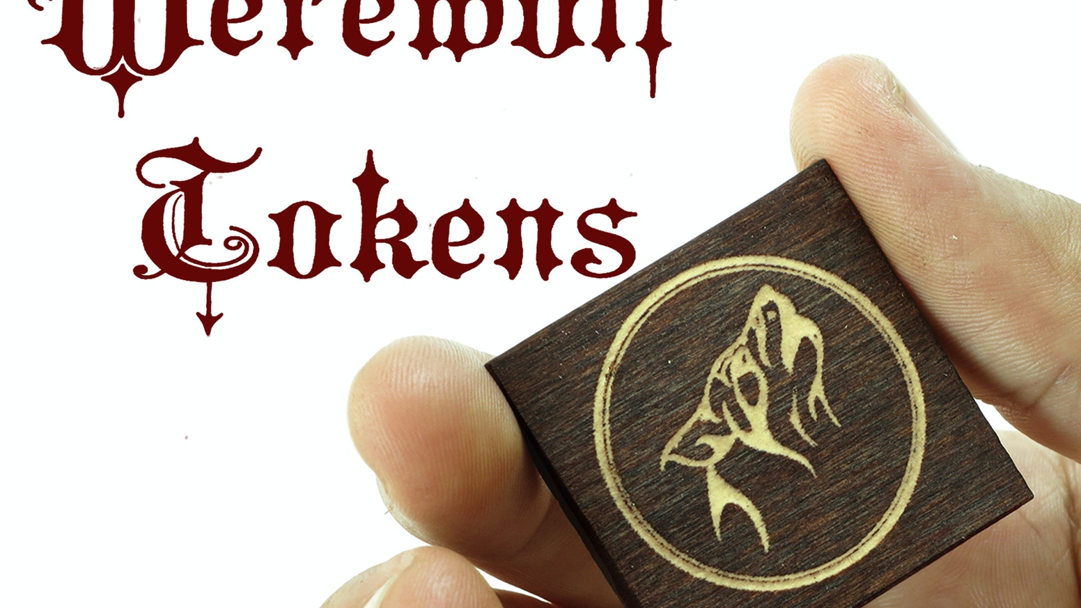 The hidden roles game you can custom laser engrave wood pieces.  Werewolf (Mafia, Vampire) game. All ages party game