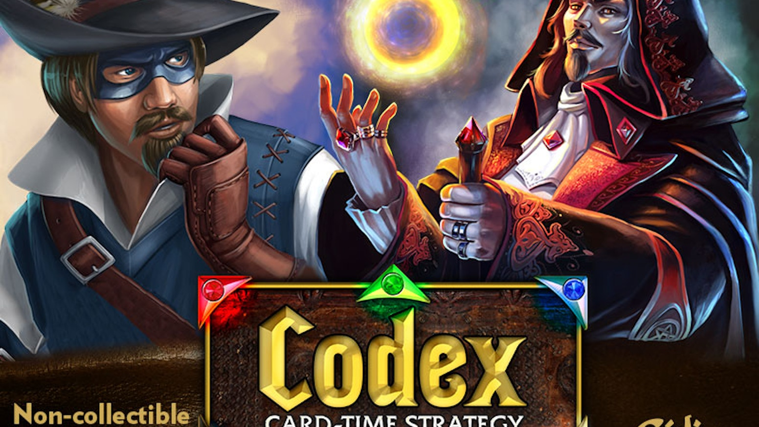 Codex is a customizable card game that does things differently from the rest. Based on real-time strategy video games.