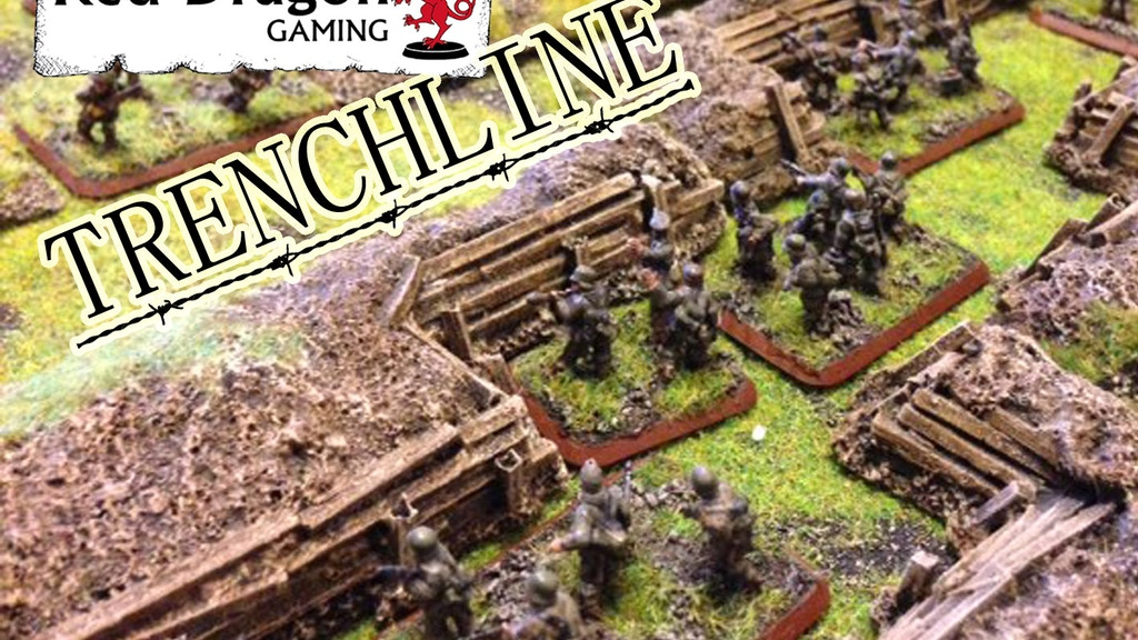 Wargaming Terrain - Modular Defence Line and Trench System project video thumbnail