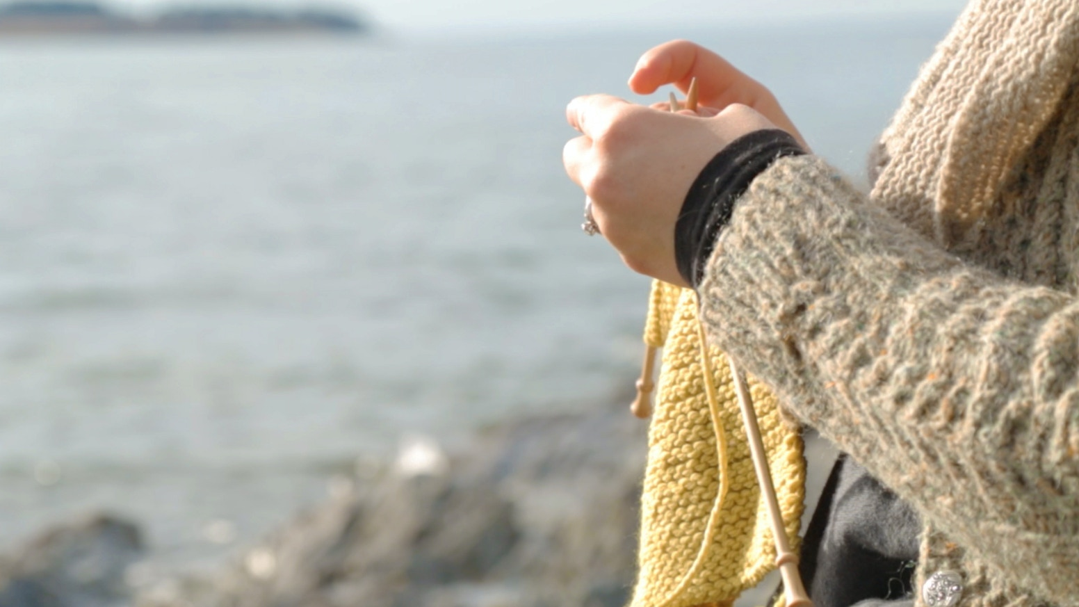 A print book of hand knitting patterns inspired by the sea * farm * wild