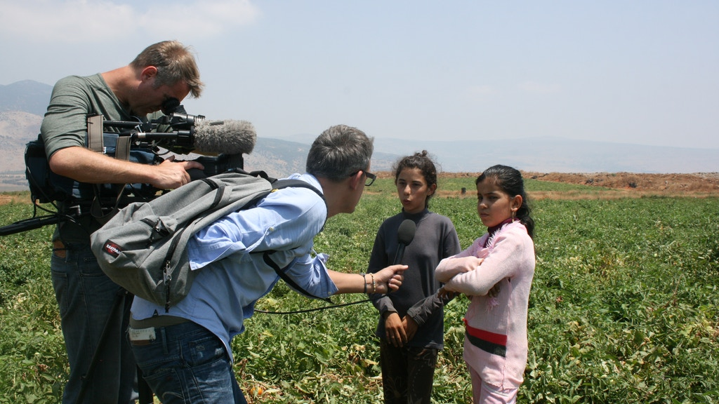 Syrian children telling their story project video thumbnail